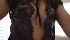 VICKY STARK NUDE BLACK LINGERIE VIDEO FROM PATREON thumbnail