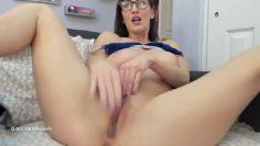 Amber hahn Masturbating Video