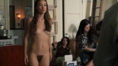 Olivia Wilde Nude Scene in Vinyl